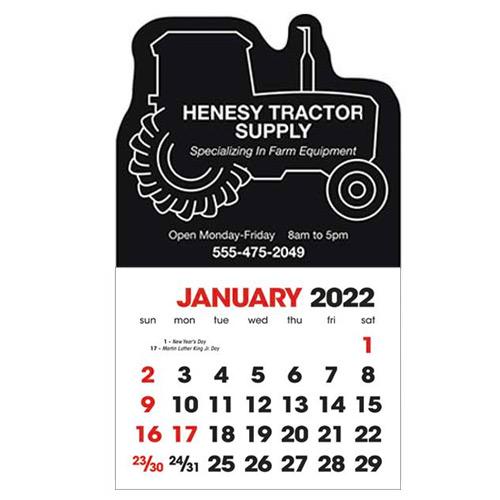 2583TR - Stick-Up Calendar Tractor
