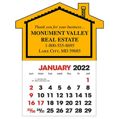 2583HO - Stick-Up Calendars (House)