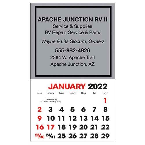 2583SQ - Stick-Up Calendars (Square)