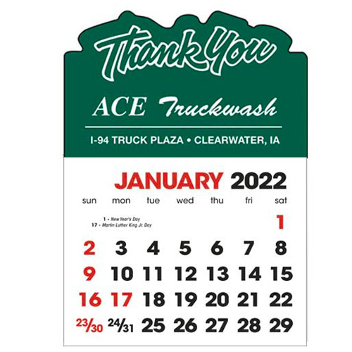 2583TY - Stick-Up Calendars (Thank You)