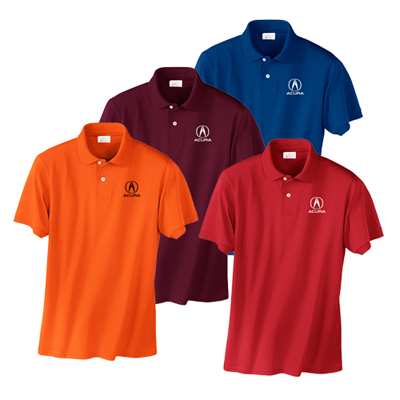 3738C - Hanes® EcoSmart® - 5.2-Ounce Jersey Knit Sport Shirt