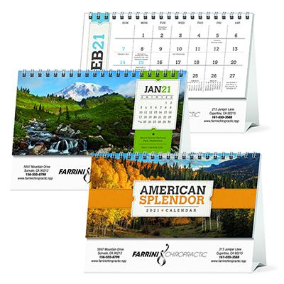 13072 - American Splendor Desk Calendar