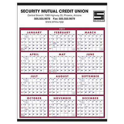 13082 - Span-A-Year Calendar