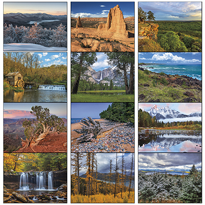 13217 - Landscapes of America Calendar