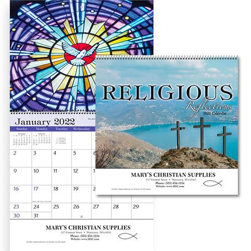 13254 - Religious Reflections Spiral Wall Appt Calendar