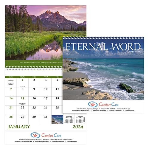 13350 - Eternal Word - Spiral Calendar