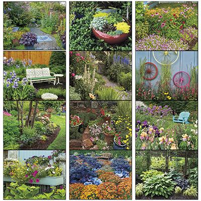 13352 - Garden Walk Stapled Calendar