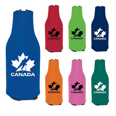 14087 - Koozie® Zip-Up Bottle Kooler