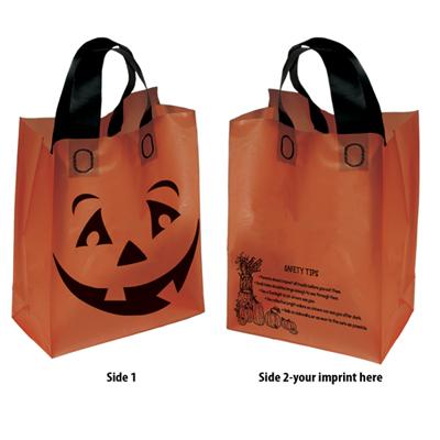 Orange Halloween Pumpkin Shopper