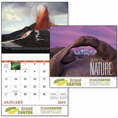 Power of Nature Stapled Calendar