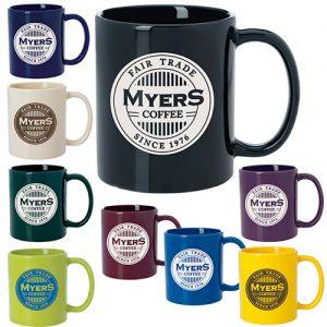 11 oz. Colored Budget Mug