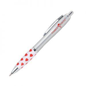 Emissary Click Pen - Heart Themed