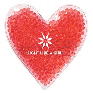 Heart Shape Gel Beads Hot or Cold Pack