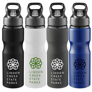 28 oz Loki Aluminum Sports Bottle