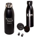 20 oz. Bluetooth® Earbud Stainless Steel Vacuum Bottle