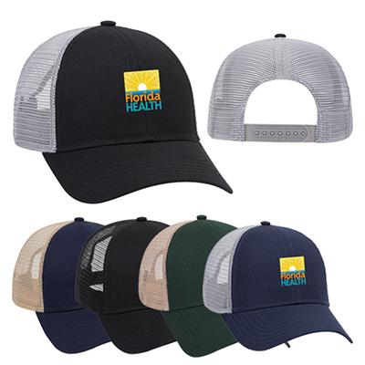 Cotton Twill Mesh Back Trucker Hat