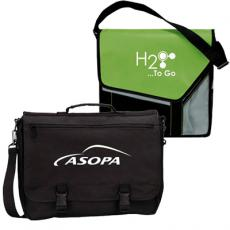 promotional messenger bags & briefcases