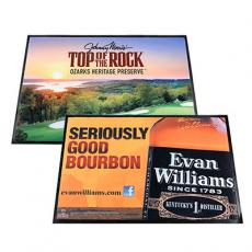 promotional floor & counter mats