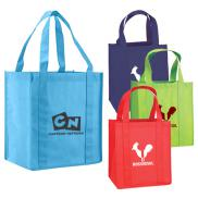 promotional atlas nonwoven grocery tote