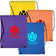 promotional nonwoven drawstring back pack