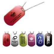 promotional aluminum personalized  dog tags