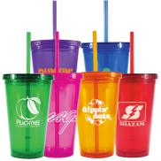promotional 16 oz. freedom tumbler