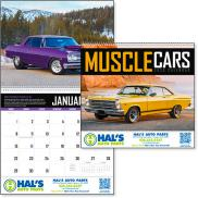 promotional muscle cars appointment calendar