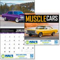 16005 - Muscle Cars Appointment Calendar