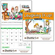 promotional laughing it up! calendar