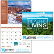 promotional healthy living calendar