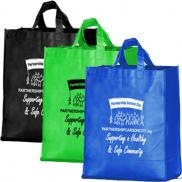 promotional folding grocery bag