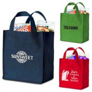 promotional polytex deluxe grocery bag