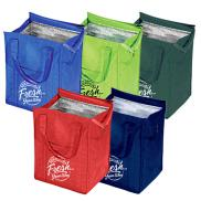 promotional market design insulated grocery tote