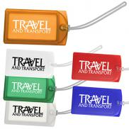 promotional explorer luggage tag