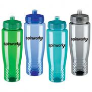 promotional 27 oz. poly-clean bottle
