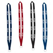 promotional 1/2 promotional lanyard with split ring