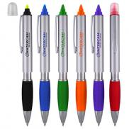 promotional bristol pen and highlighter