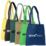 promotional poly pro flat tote