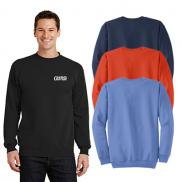 promotional port & company® - core fleece crewneck sweatshirt (color)
