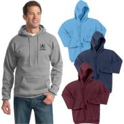 promotional port & company® - core fleece pullover hooded sweatshirt
