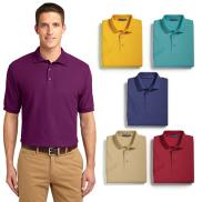 promotional port authority® silk touch™ polo