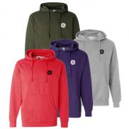 promotional midweight hooded sweatshirt