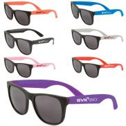 promotional two tone matte sunglasses