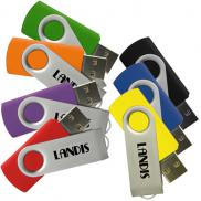 promotional matrix swivel usb drive  2gb