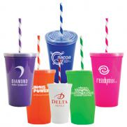 promotional 20 oz. stadium 2 go cup
