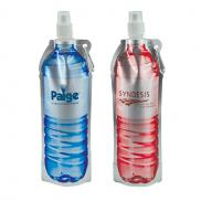 promotional 18 oz. hydra flat bottle