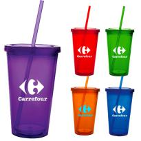 17567 - 18 oz. Double Wall Acrylic Tumbler