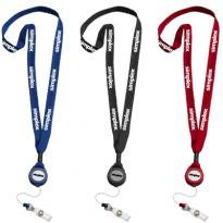 17619 - Lanyard with Badge Reel