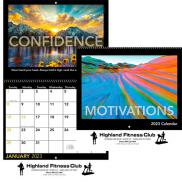 promotional motivations spiral wall  calendar