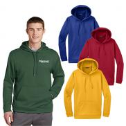 promotional sport-tek® sport-wick® fleece hooded pullover